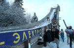 Соревнования летающих лыжников