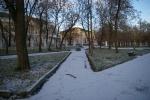 Ночью в Котельниче выпал снег