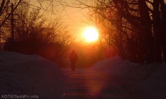 Зима не прощается