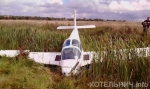 В Котельниче неудачно сел самолет