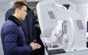 Котельничская ЦРБ получила передвижной маммограф