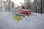 Подведены итоги конкурса снежных скульптур