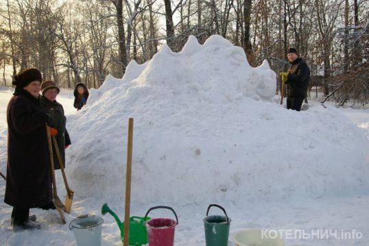 В Котельниче состоится фестиваль снежных скульптур