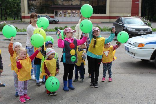 В «Сказке» отметили Международный день светофора