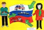 Школьница из Ленинской Искры победила в конкурсе рисунка «Страна БезОпасности»