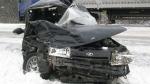 20 ноября по Котельничу провезут искореженный в аварии автомобиль