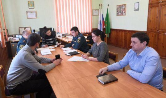 В Котельниче прошло экстренное заседание комиссии по чрезвычайным ситуациям