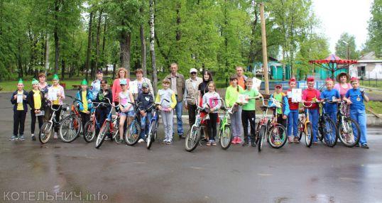 Соревновались велосипедисты