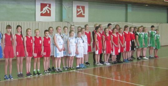 Сыграли в баскетбол
