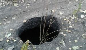 В Котельниче может провалиться дорога к поселку Первомайский