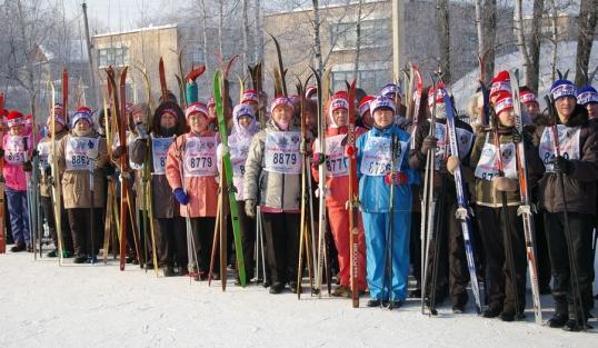 Лыжня России в Котельниче