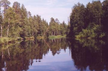 Голубые озера Карелии