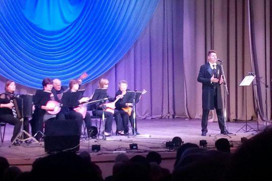 Концерт Андрея Балыбердина