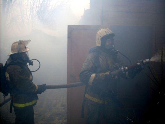 Пожар в Искре