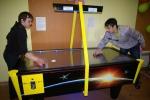 В Котельниче состоялся первый турнир по аэрохоккею