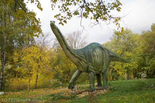 Победил маршрут к динозаврам
