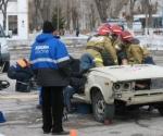 Пожарные ПЧ-40 заняли второе место в областных соревнованиях