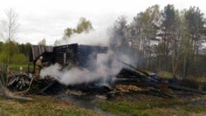 Пожар в Ежихе