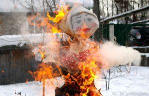 Сожгут Масленицу