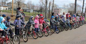 Соревновались юные велосипедисты