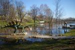 Большая вода пришла в Динопарк