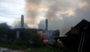 Пожар в Сретенье