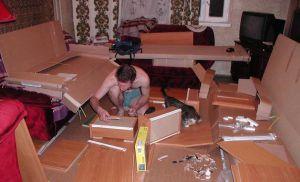 Про ремонт с мебелью