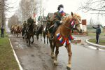 Конный парад в честь Дня Победы