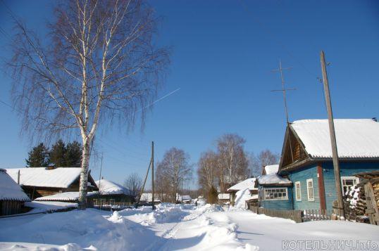 Зима лютует