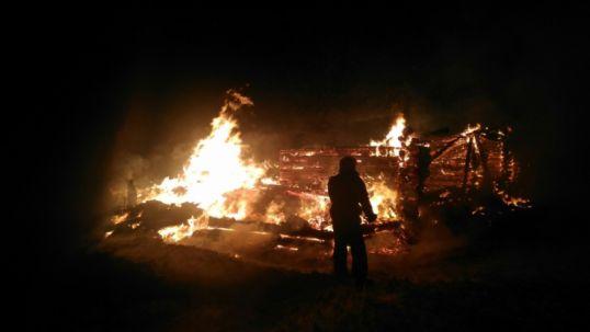 Пожар в Петуховых