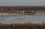 Первая подвижка льда на Вятке