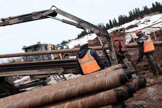 Губернатор проверил, как строится газопровод до Котельнича