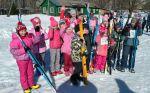 Соревновались маленькие лыжники