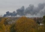 Пожар на улице Лермонтова