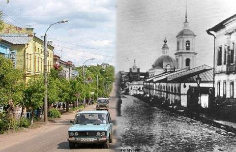 Комбинированная история города Котельнича