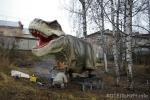 Тираннозавр в Динопарке