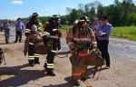 У котельничских железнодорожных пожарных третье место