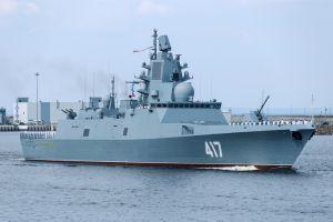 «Котельнич» вывел в Баренцево море новейший фрегат