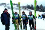 В Котельничском районе прошли соревнования летающих лыжников