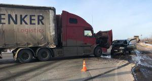 Три ДТП, два пешехода пострадали