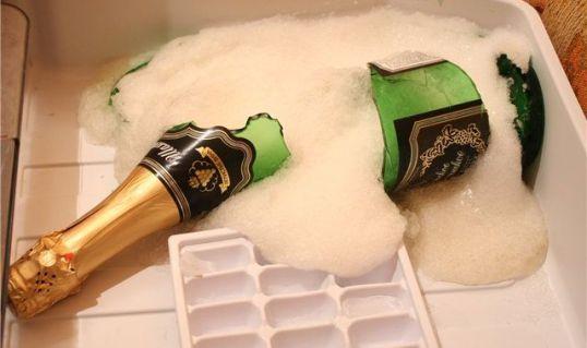 Тазик шампанского