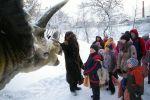 Снегозавр ждет в гости