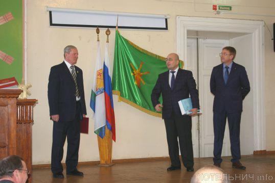 Состоялась инаугурация главы Котельничского района